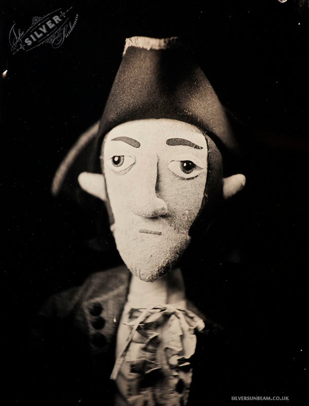 Image of John Evans (Gruff Rhys/Super Furry Animals) - Limited Edition Tintype Print