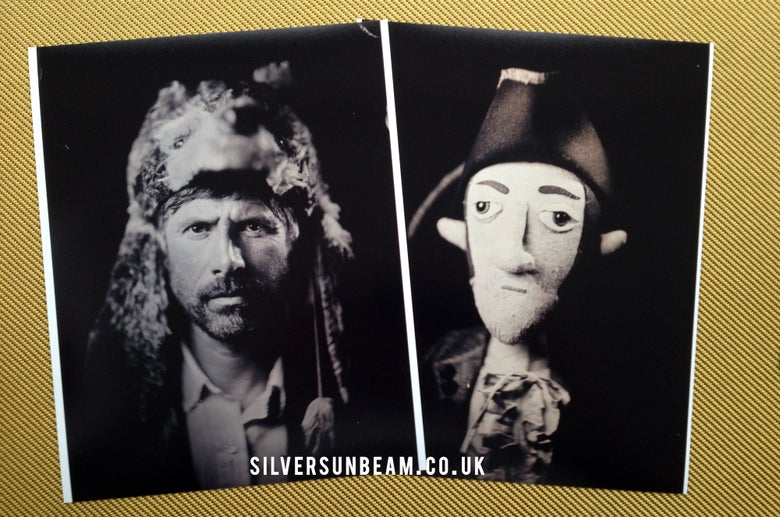 Image of Gruff Rhys & John Evans (Super Furry Animals) - Limited Edition Tintype Print Set