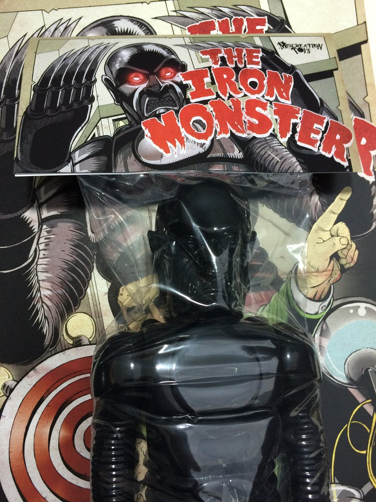 "Image of The Iron Monster 15"" Blank Black"