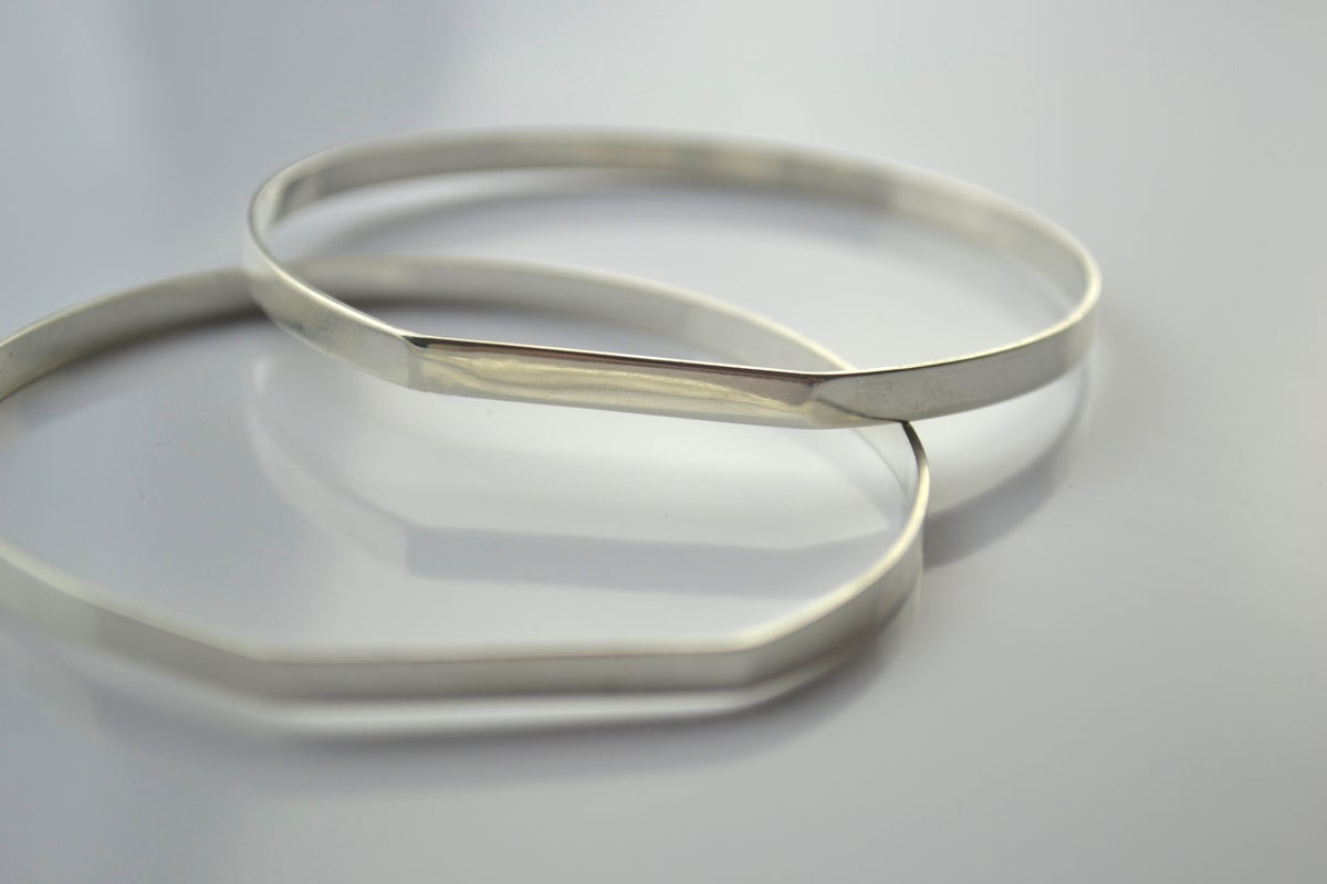 Image of The Straight Line Bangle