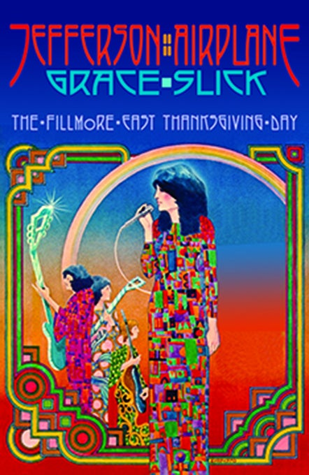 Image of Jefferson Airplane 1970 Thanksgiving Show