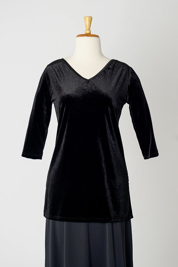 Image of Velvet Tunic Top