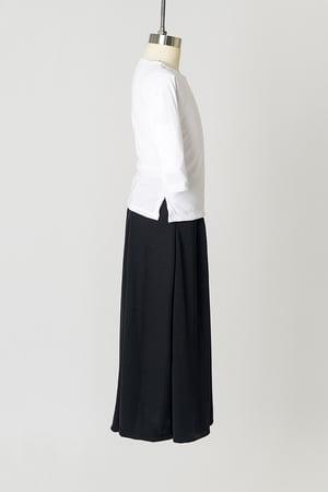 Image of Girls' White Jersey Tunic Top