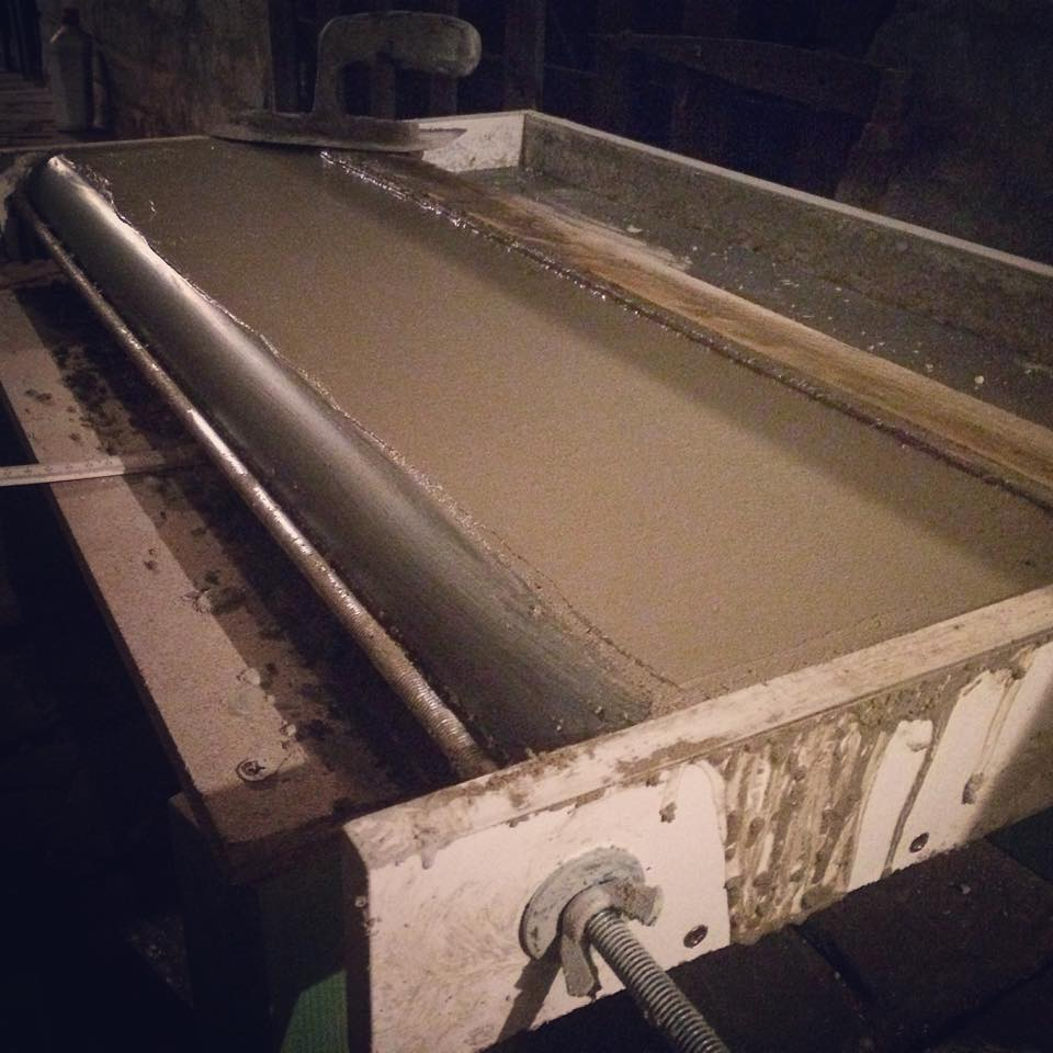 Image of Pool Coping / Improved and Handmade