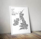 Image of 'Map of the British Ales'