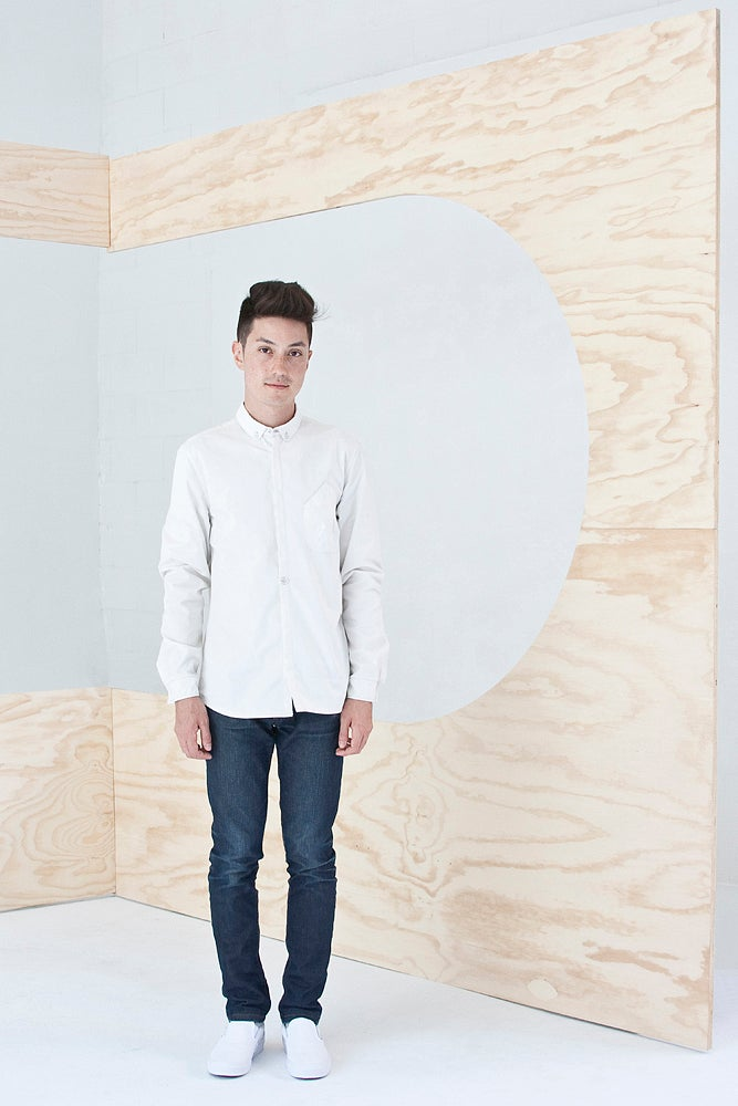 Image of Unisex Architect Shirt in Solid White
