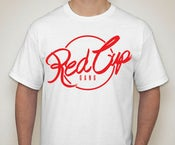 Image of Red Cup Gang Tee White Pre-order