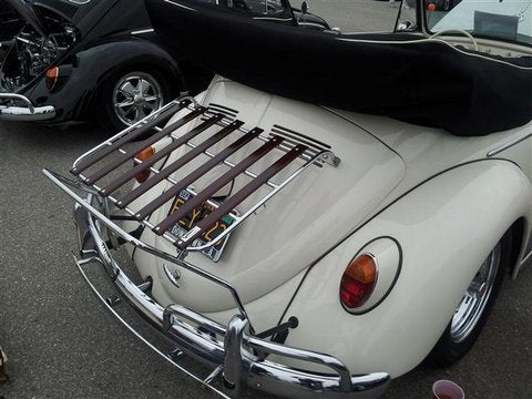 Image of VW BUG CHROME DECK-LID