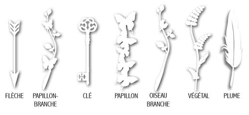 Image of Boucles d'oreilles PAPER <br>fiole asymétrique