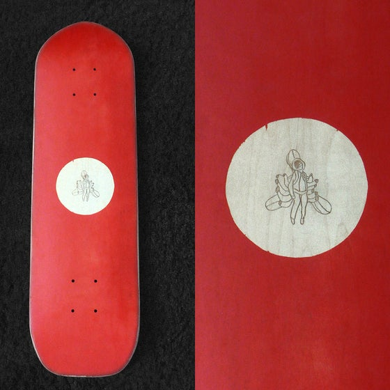 Image of Red recycled Cruiser + Propeller Island DVD