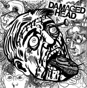 "Image of DAMAGED HEAD ""s/t"" E.P. 7''"