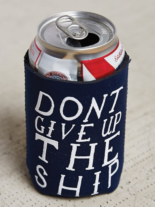 Image of Don't Give Up The Ship Koozie