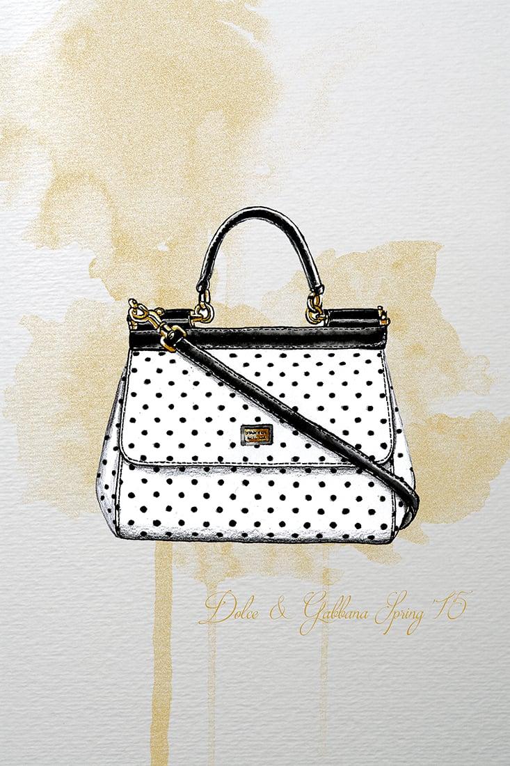 Image of Dolce & Gabbana Spring 2015 Illustration