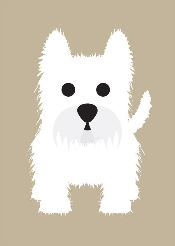 Schipperke, Vizsla, Wheaten Terrier, Westie Collection