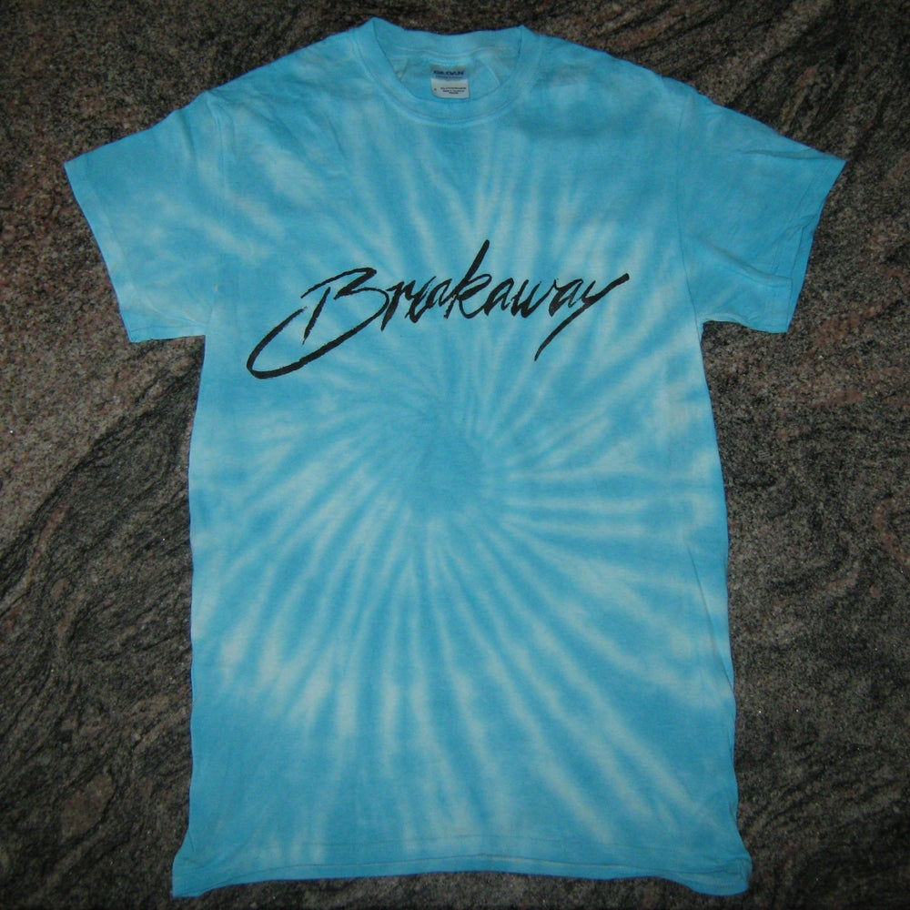 Image of 'BREAKAWAY' Tie Dye Blue