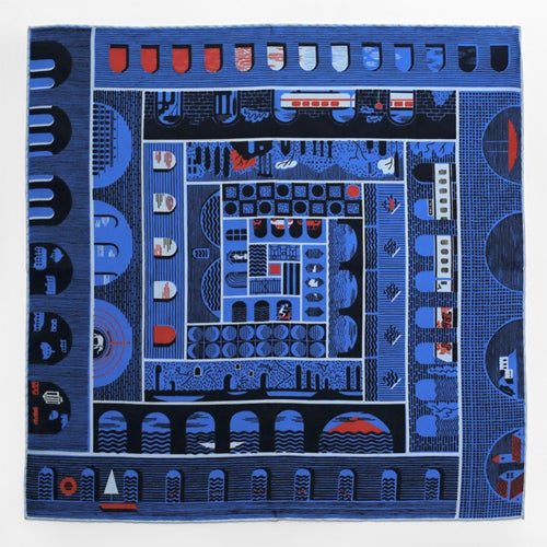 Image of *NEW* GIROTONDO SILK SCARF