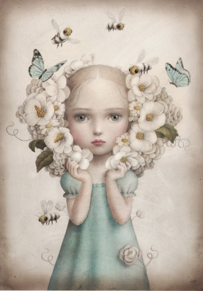 Image of INFLORESCENCE Limited Edition Print by Nicoletta Ceccoli