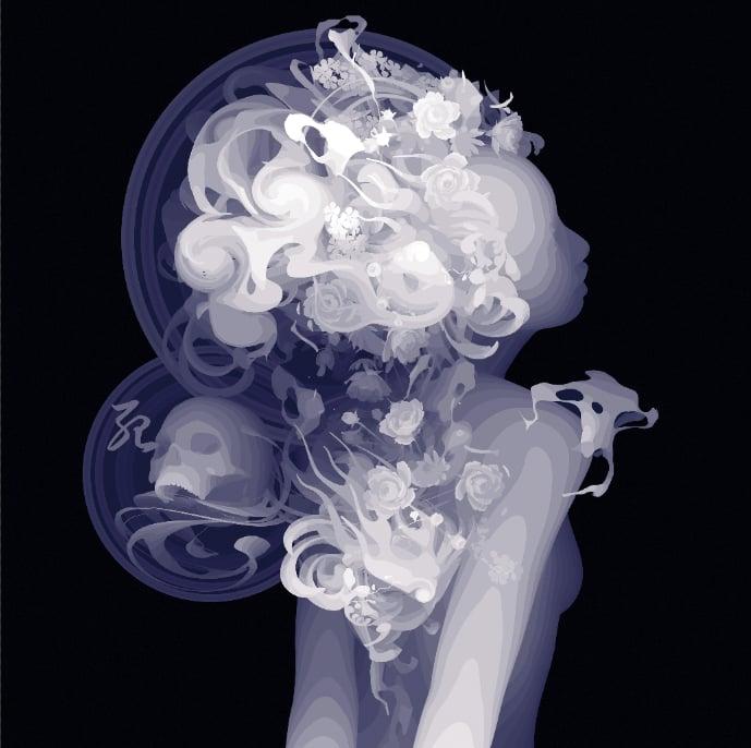 Image of Impression of Death Limited Edition Print by Kazuki Takamatsu