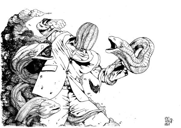 Image of Murènes de combat