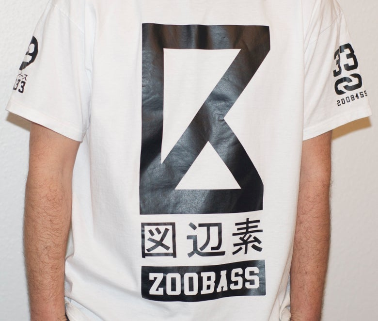 Image of Tee shirt - ZOOBASS White