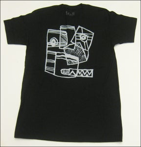 "Image of MJL ""OG Napkin Face Drawing"" Black T-Shirt"