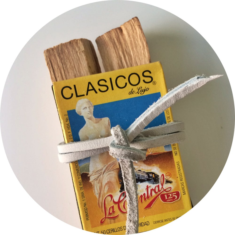 Image of Palo Santo and Matchbox Bundle