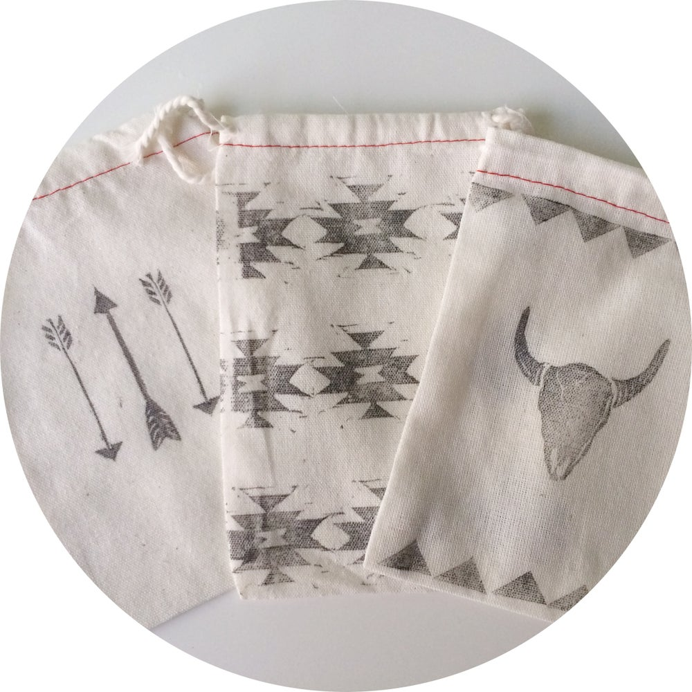 Image of Southwest Muslin Pouches