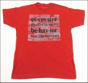 """Image of MJL """"Scratch Ticket"""" Red  T-Shirt"""