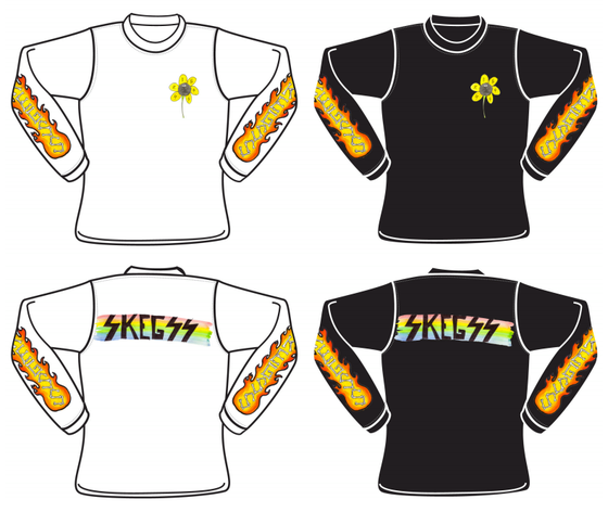Image of SKEGSS FLAME LONG SLEEVE