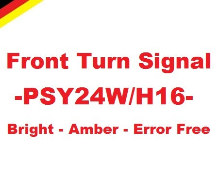 Image of Front Turn Signals H16 PSY24W Error Free fits: Most Audi Models