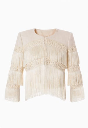 Image of FRINGED JACKET