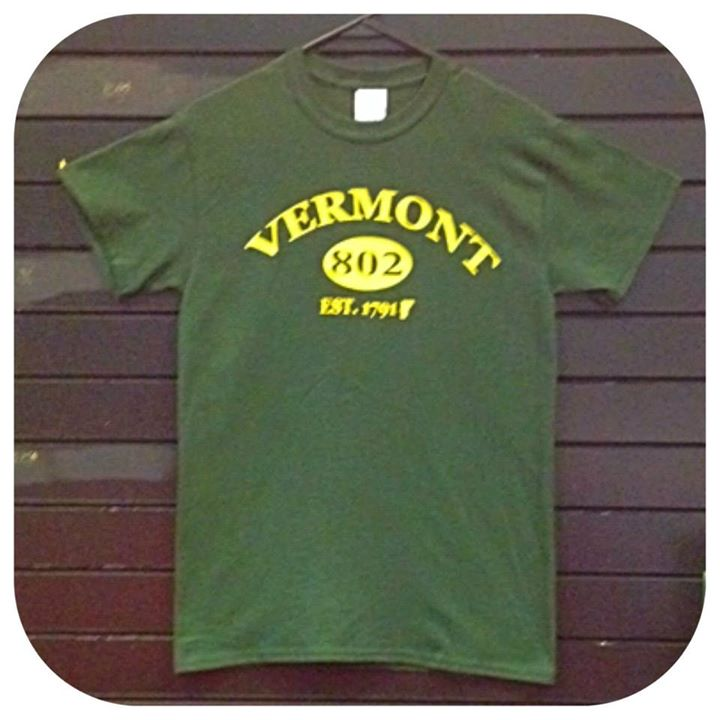 Image of Vermont 802 Arch TShirt - Vermont Shirt - VT shirt - Vermont Clothing - Vermont Clothes