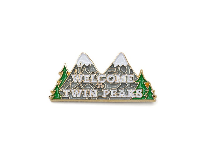 Image of Twin Peaks Lapel Pin