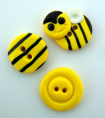 Image of Bee Buttons