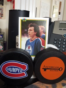 Image of CHUMPED HOCKEY PUCK AND CATALOG DOWNLOAD!!!!!