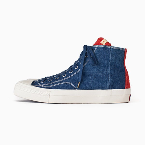 Image of visvim SKAGWAY HI DENIM - RED