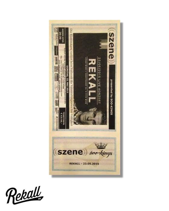 "Image of Rekall ""Konzert Ticket"""