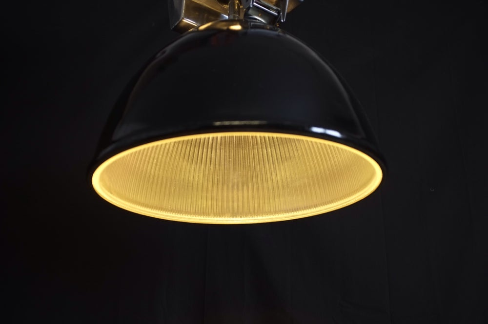 Image of Mid-Century Industrial Warehouse Light