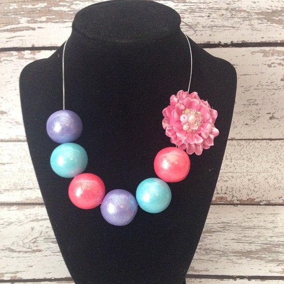 Image of Bubble Gum Necklace