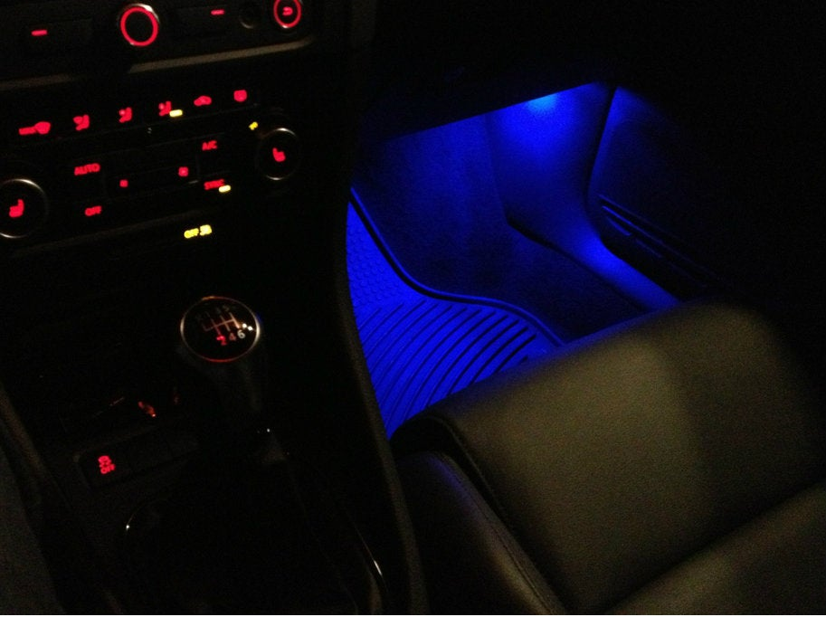 Complete Interior Led Kit With Footwells Fits 2017 Mk6 Mk7 Vw Jetta Deautoled
