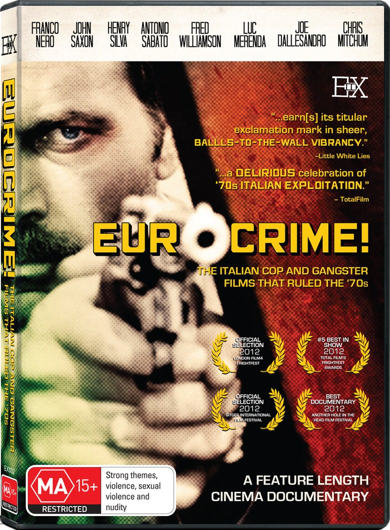 Image of Eurocrime! The Italian Cop and Gangster Films That Ruled the '70s