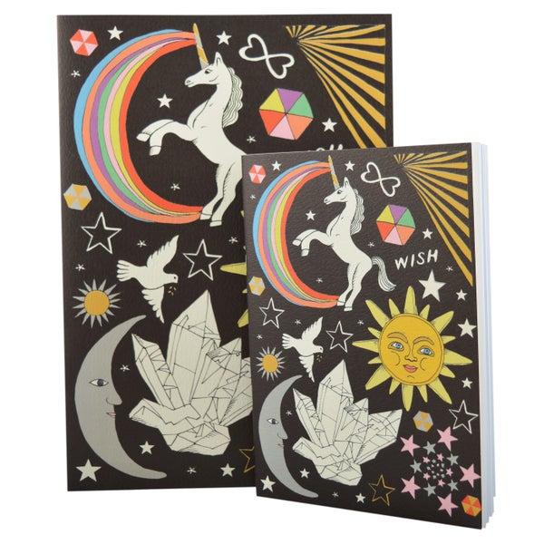 Image of Celestial A4 and A5 Notebooks