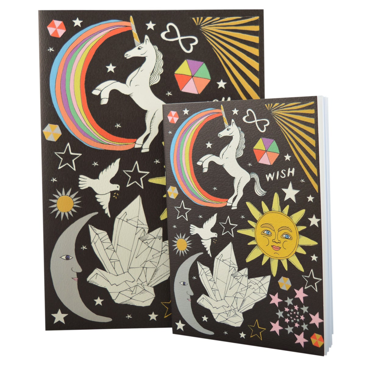 Celestial A4 and A5 Notebooks