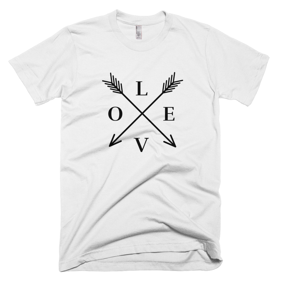Image of LOVE tee-white