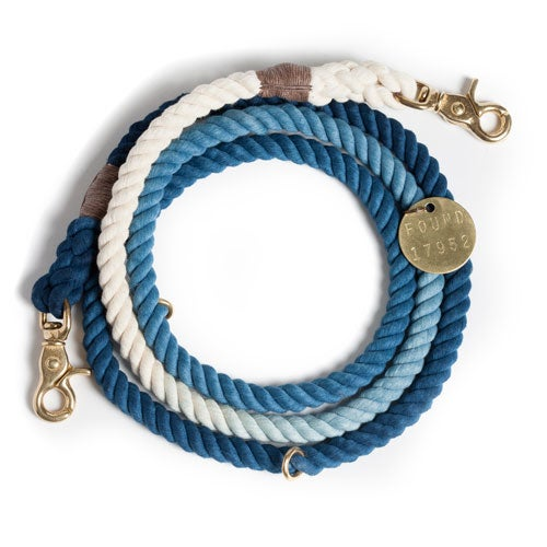 Image of Indigo, Ombre Rope Lead