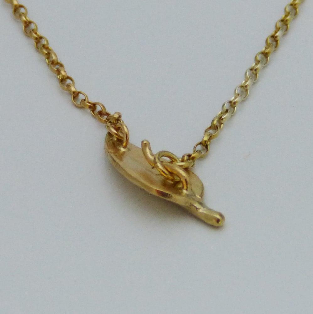 Image of Leaf chain bracelet