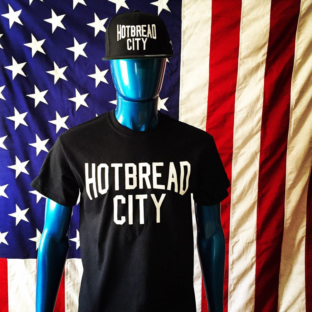 Image of HotBread City tee ( black)
