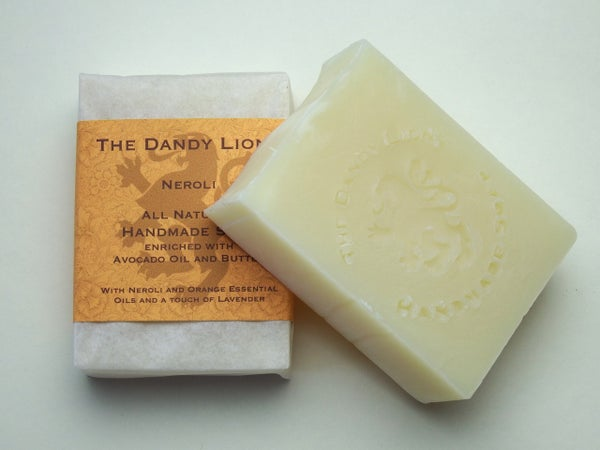 Image of Neroli soap enriched with Shea Butter and Avocado Oil,