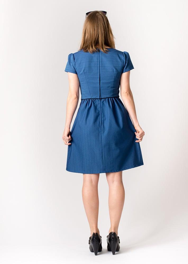 Image of ROXY DRESS: Cobalt