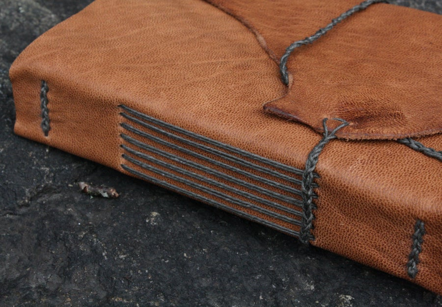 Image of Muir - a pragmatic leatherbound journal